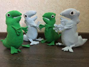 upotoys динозавры