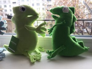 upotoys green dinosaur