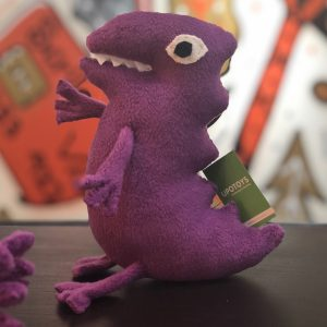 Violet dino upotoys