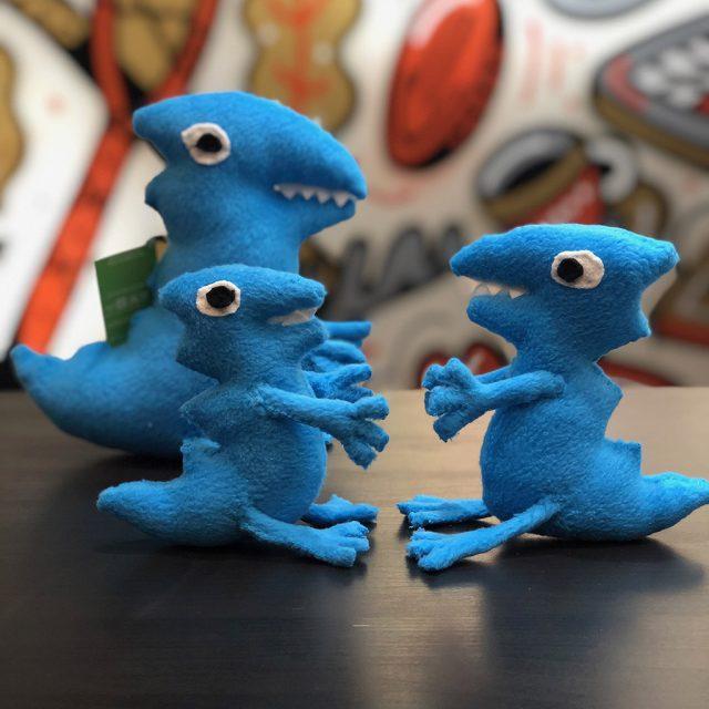 Семья Голубых Динозавриков. Динозавры Джорджа от upotoys